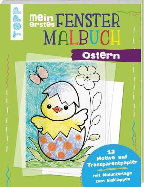 Mein erstes Fenster-Malbuch Ostern - Ursula Schwab