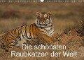 Die schönsten Raubkatzen der Welt (Wandkalender 2018 DIN A3 quer) - Marion Vollborn