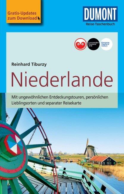 DuMont Reise-Taschenbuch Reiseführer Niederlande - Reinhard Tiburzy