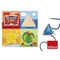 Goula Fädelspiel Gegenstände -