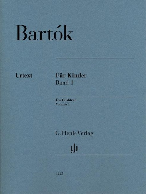 Für Kinder (rev. 1946) Bd. 1 - Béla Bartók