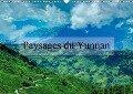 Paysages du Yunnan (Calendrier mural 2018 DIN A3 horizontal) - Alain Gaymard