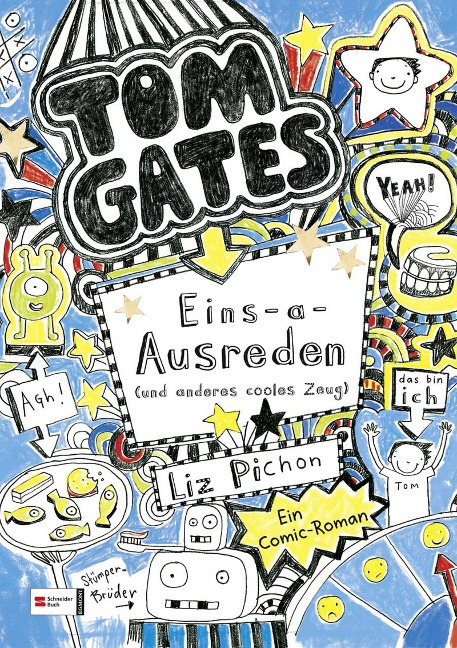 Tom Gates, Band 02 - Liz Pichon