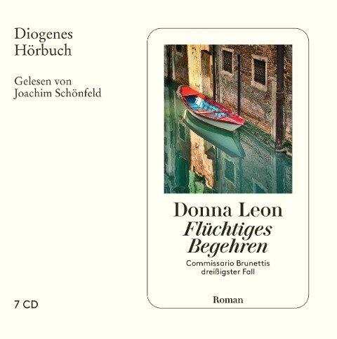 Flüchtiges Begehren - Donna Leon