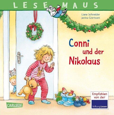 LESEMAUS 192: Conni und der Nikolaus - Liane Schneider