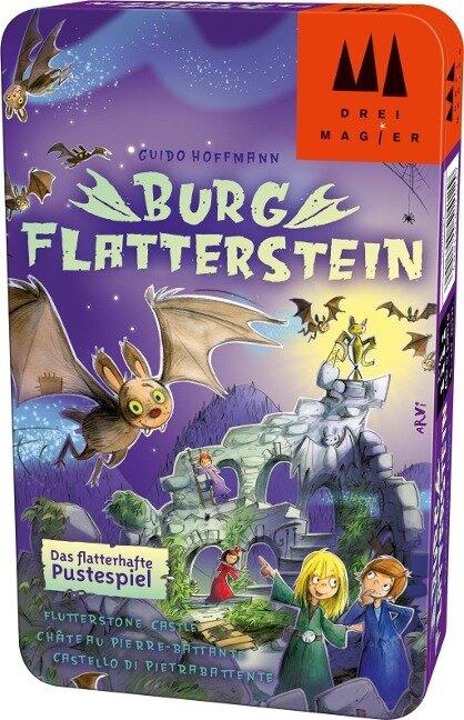 Burg Flatterstein® - Bring-Mich-Mit-Spiel in Metalldose -
