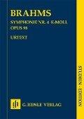 Symphonie Nr. 4 e-moll op. 98 - Johannes Brahms