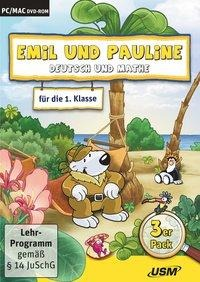 Emil und Pauline 3 in 1 Bundle - Deutsch und Mathe für die 1. Klasse - Almuth Bartl