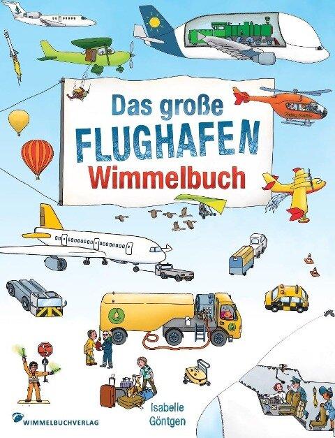 Flughafen Wimmelbuch -