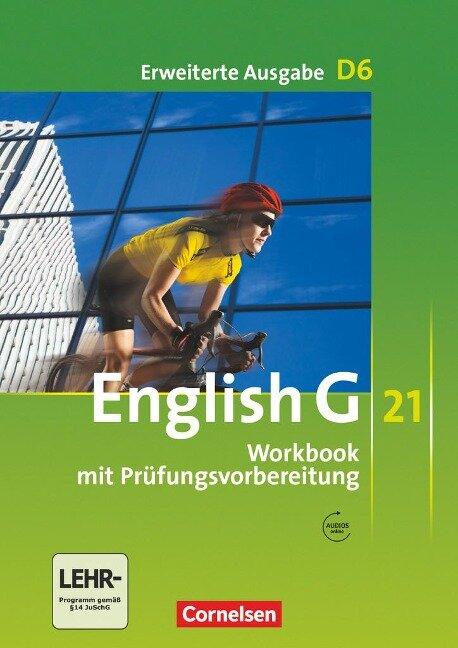 English G 21. Erweiterte Ausgabe D 6. Workbook mit Audios online - Jennifer Seidl