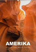 Amerika (Wandkalender 2018 DIN A2 hoch) - Mona Stut