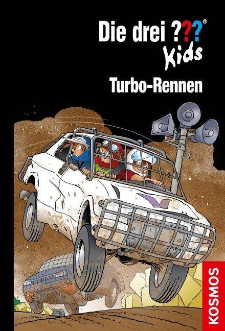 Die drei ??? Kids, 81, Turbo-Rennen - Boris Pfeiffer
