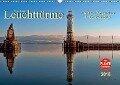 Leuchttürme - maritime Wegweiser in Deutschland (Wandkalender 2018 DIN A3 quer) - Peter Roder