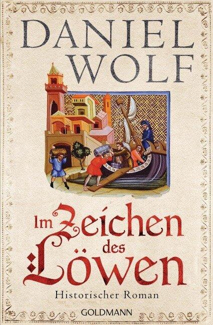 Im Zeichen des Löwen - Daniel Wolf