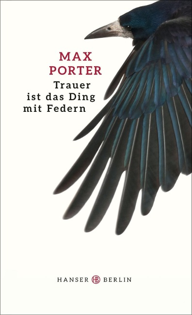 Trauer ist das Ding mit Federn - Max Porter