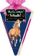 Schultüten-Kratzelbuch - Pferdefreunde - Hurra, endlich Schule! -