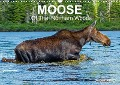 MOOSE Of The Northern Woods (Wall Calendar 2018 DIN A3 Landscape) - Philippe Henry