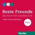 Beste Freunde A2/2. Audio-CD zum Kursbuch - Manuela Georgiakaki, Christiane Seuthe, Elisabeth Graf-Riemann, Anja Schümann