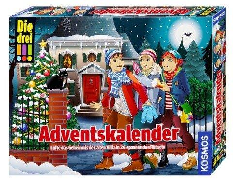 Die drei !!! Adventskalender (drei Ausrufezeichen) -