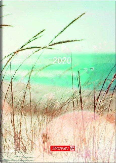 Brunnen Buchkalender 2020 Strand A5 -