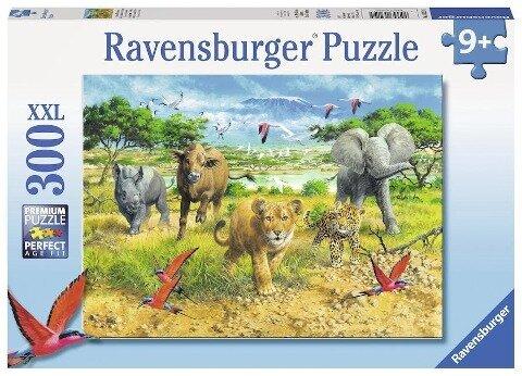 Afrikas Tierkinder. Puzzle 300 Teile XXL -