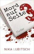 Mord auf Seite 3 - Nika Lubitsch