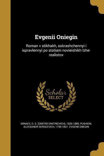 RUS-EVGENII ONIEGIN -