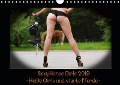Sexy Horse Girls 2019 - Heiße Girls und starke Kaltblutpferde! (Wandkalender 2019 DIN A4 quer) - Maja C. Schulze