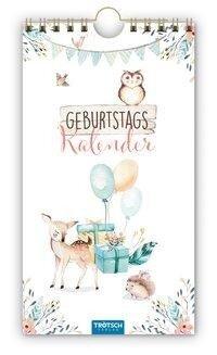 Trötsch Geburtstagskalender Waldfreunde -