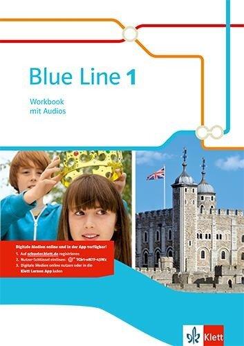 Blue Line 1. Workbook mit Audio-CD. Ausgabe 2014 -