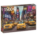 New York Taxis - 1500 Teile Puzzle -