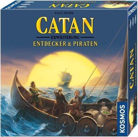 Die Siedler von Catan - Entdecker & Piraten - Klaus Teuber