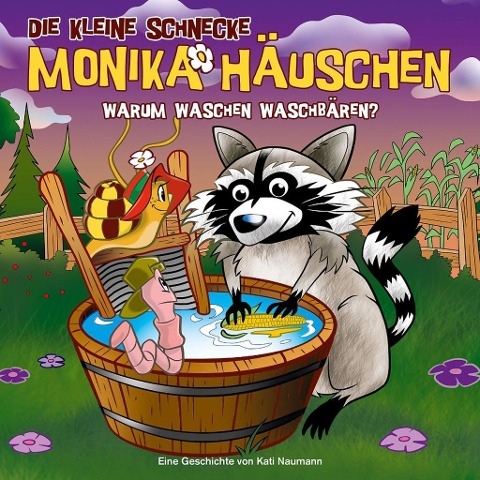 Die kleine Schnecke Monika Häuschen 53: Warum waschen Waschbären? -