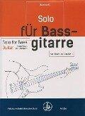 Solo für Bassgitarre - von Bach bis Gershwin - Leo Bachrach
