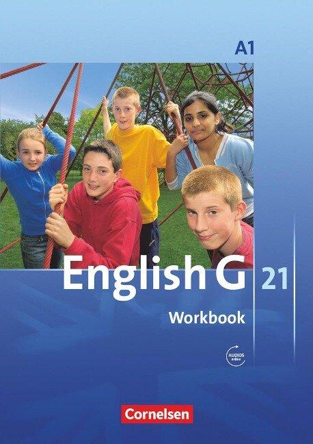English G 21. Ausgabe A 1. Workbook mit Audios Online -