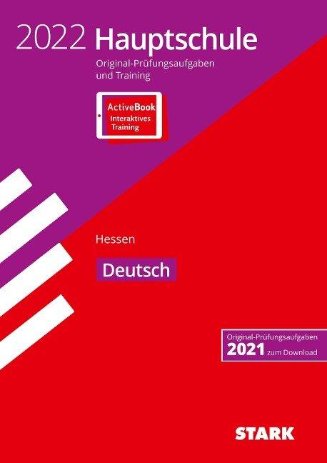 STARK Original-Prüfungen und Training Hauptschule 2022 - Deutsch - Hessen -