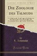 Die Zoologie des Talmuds - L. Lewysohn