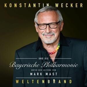 Weltenbrand. 2 CDs - Konstantin Wecker, Bayerische Philharmonie