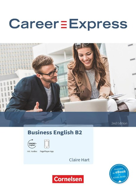Career Express - Business English B2 - 2nd Edition - Kursbuch mit PagePlayer-App inkl. Audios - Claire Hart