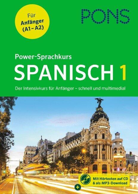 PONS Power-Sprachkurs Spanisch 1 -