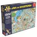 Jan van Haasteren - Tropischer Badetag - 1500 Teile Puzzle -