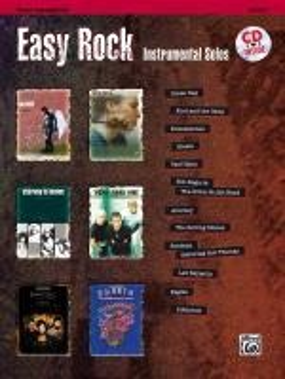 Easy Rock Instrumental Solos für Tenor Sax Buch/CD -
