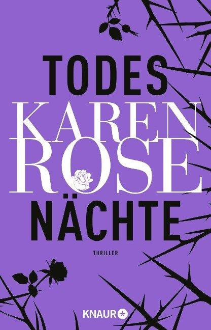 Todesnächte - Karen Rose