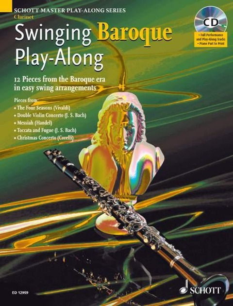 Swinging Baroque Play-Along. Klarinette; Klavier ad lib -