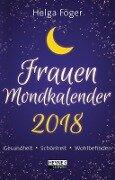 Frauen Mondkalender 2018 Taschenkalender - Helga Föger