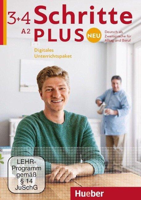 Schritte plus Neu 3+4. Deutsch als Zweitsprache. Digitales Unterrichtspaket - Daniela Niebisch, Sylvette Penning-Hiemstra, Angela Pude, Franz Specht, Monika Reimann