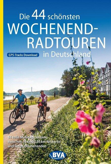 Die 44 schönsten Wochenend-Radtouren in Deutschland mit GPS-Tracks -
