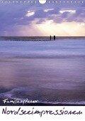Nordseeimpressionen (Wandkalender 2019 DIN A4 hoch) - Lydia Weih