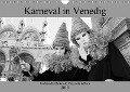 Karneval in Venedig - Schwarzweiss (Wandkalender 2019 DIN A4 quer) - Andreas Riedmiller
