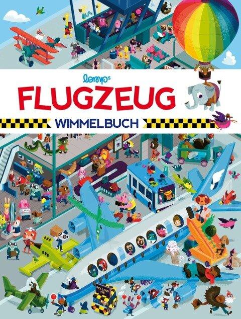 Flugzeug Wimmelbuch - Stephan Lomp